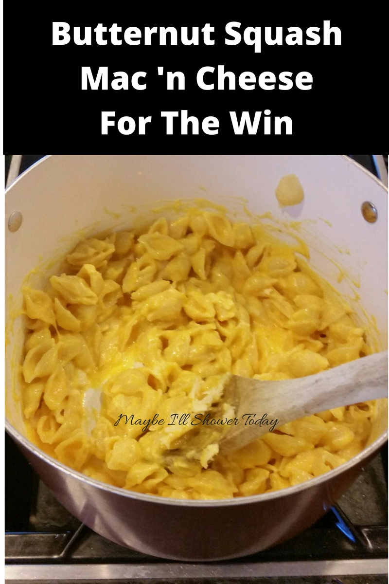 Butternut squash mac 'n cheese for the win | Maybe I'll ...